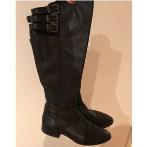 BCBG Real Leather Boots